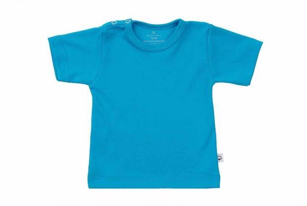 Wooden Buttons t-shirt km aqua