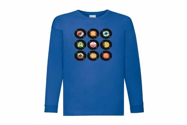 Discharge T-shirt lm kobalt LP ss