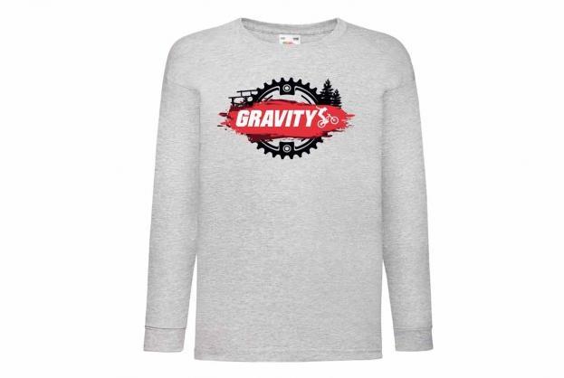 Discharge T-shirt lm grijs motorcross
