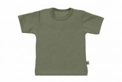 Wooden Buttons t-shirt km army