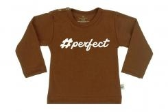 Wooden Buttens t-shirt lm perfect choco