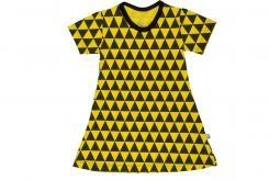 Wooden Buttens 139.001 Jurkje driehoekjes