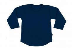Wooden Buttons t-shirt lm marine rond