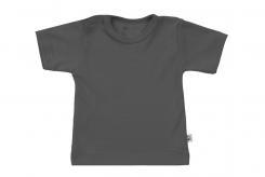 Wooden Buttens t-shirt km antrachiet