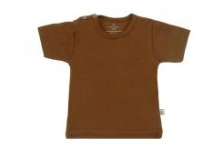 Wooden Buttens t-shirt km choco