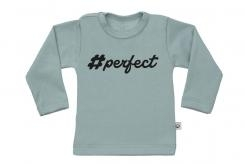 Wooden Buttens t-shirt lm  Perfect old green