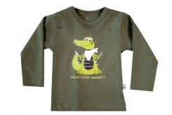 Wooden Buttens t-shirt lm  Dino Army