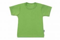 Wooden Buttens t-shirt km appel groen