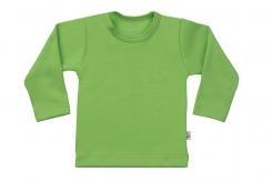 Wooden Buttons t-shirt lm appelgroen