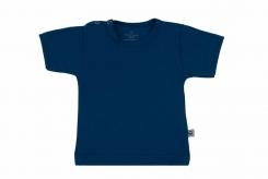 Wooden Buttons t-shirt km marine