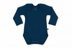 Wooden Buttons Romper lm marine