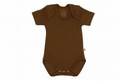 Wooden Buttons romper km choco