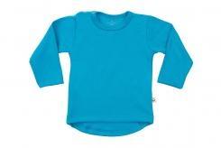 Wooden Buttons t-shirt rond lm aqua