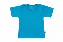 Wooden Buttens t-shirt km aqua