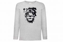 Discharge T-shirt lm wit leeuw