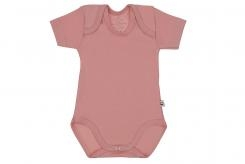 Wooden Buttons  rompers k m old roze