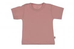 Wooden Buttens  t-shirt km  old rose