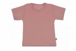 Wooden Buttens t-shirt km oud rose