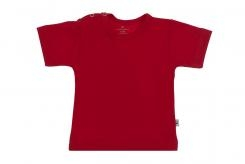 Wooden Buttens t-shirt km rood