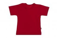 Wooden Buttens t-shirt km rood