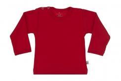 Wooden Buttens t-shirt lm rood