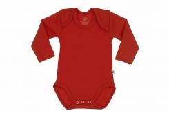 Wooden Buttons Romper lm rood