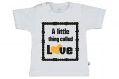 Wooden Buttons t shirt km A little thing called love wit