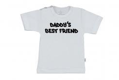 Wooden Buttons t-shirt km Baddy's best friend