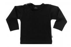 Wooden Buttens t-shirt lm zwart