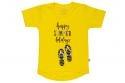 Wooden Buttens 135.004 T-shirt geel