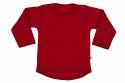 Wooden Buttons t-shirt lm rond rood